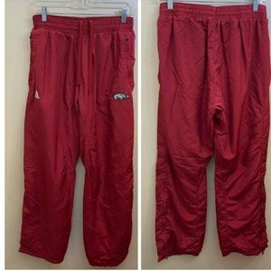 Adidas Pants Climate Proof Nylon Red